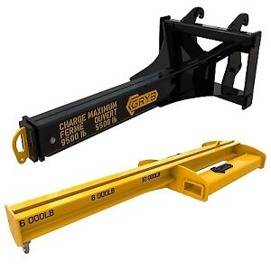 Handling Products for Heavy Equipment