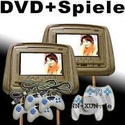 Kopfstütze DVD Player
