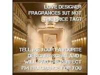 Fm perfume love the designer perfumes but not the price tag?