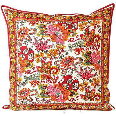 large indian cushion covers ebay. Black Bedroom Furniture Sets. Home Design Ideas