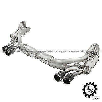 2013-2014 Porsche 911 C2S 3.8L aFe Power Elite Carbon Tip Dual Cat Back Exhaust