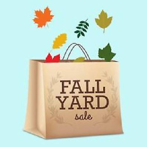 Come One Come All The End Of Fall Yard Sale