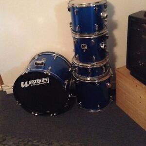Starter drum set, Westbury, for sale