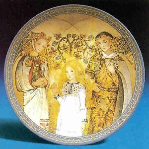 Bradford Exchange Sulamith Wulfing Collector Plates - set of 8