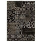 Patchwork Black 8' x 10' Size Area Rugs