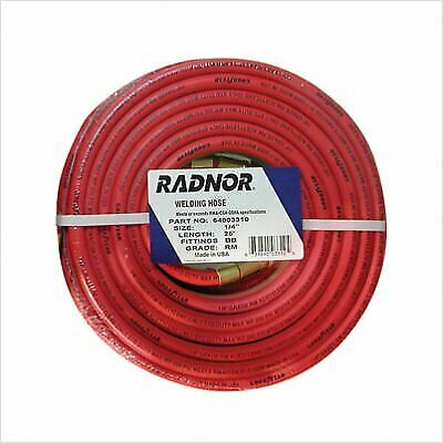 14 X 25 Foot Grade Rm Twin Welding Hose With Bb Fittings