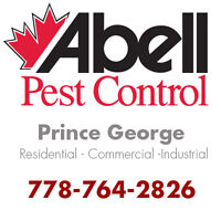 Guaranteed Pest Control Services for Prince George/778-764-2826
