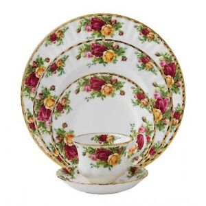 Royal Albert old country rose place settings
