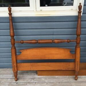 Haywood Wakefield single wooden bed frame