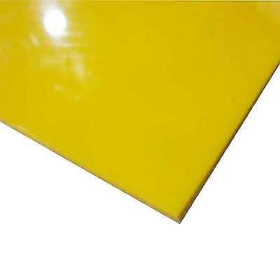 High Density Polyethylene Sheet - Yellow HDPE (High Density Polyethylene) Sheet 1/16