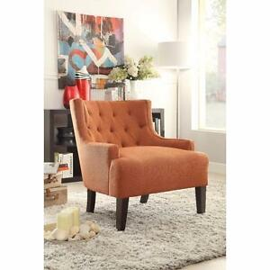 Royersford Arm Chair by Alcott Hill Orange NEW