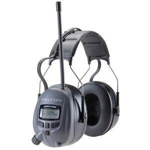3M Peltor™ Digital AM FM Radio & MP3 Headset Ear Muffs 110$
