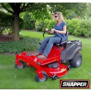"USED*SNAPPER ZERO TURN RIDING MOWER - 130058018 - 46"" CUTTER 20 HP MOTOR MOWERS MOWING LAWNS LANDSCAPING GRASS CUTTER..."