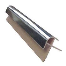 1 METER WIDE SHOWER PANELS trim for 10mm panels