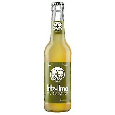 Schorle Flasche (10 Flaschen Fritz Apfelschorle  a 0,33L Apfel Schorle a inc. MEHRWEG Pfand)
