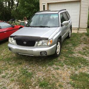 2002 Subaru Forester XS Premium package Wagon