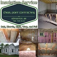 ***INSULATION AND SOUNDPROOFING, RESIDENTIAL AND COMMERCIAL***