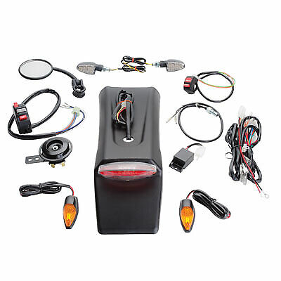 Tusk Street Legal Kit Dirt Bike Motorcyle Enduro Lighting Kit Honda CRF