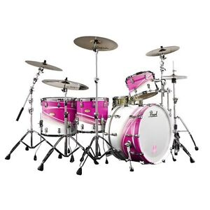 LIMITED EDITION BREAST CANCER AWARENESS PEARL DRUMS
