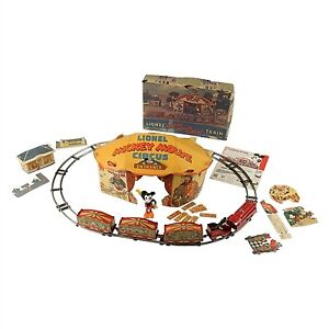 Vintage Lionel Train Mickey Mouse Circus Set