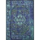 Blue Egyptian Traditional-Persian/Oriental Area Rugs