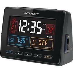 AcuRite Atomic Dual Alarm Clock - Digital - Atomic