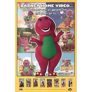 Barney video vhs tapes ebay
