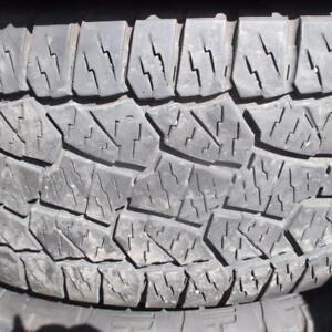 HANKOOK DYNAPRO ATM 275/55R20 TIRES 80% TREAD   275/55/20