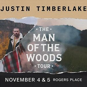Justin Timberlake - 2 tickets Nov. 4 sold out show