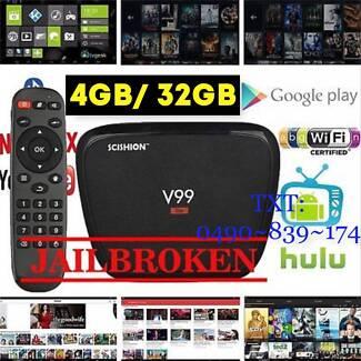 V99 Hero 4GB 32GB RK3368 Octa-Core KODI BOX 4K BT 4.0 2.4G/5G AC
