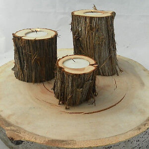 Rustic Wedding Decor--wood slices, cake stands.... Kitchener / Waterloo Kitchener Area image 10