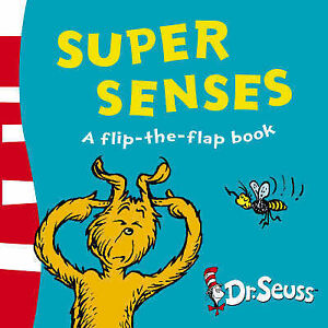Super-Senses-A-Lift-the-Flap-Book-Dr-Seuss-GOOD-Book