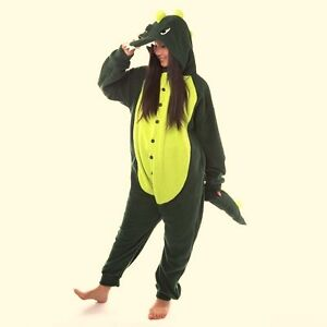 NEW Quality Thick Warm Fleece Adult Dinosaur Onesies Sizes S & XL Keilor East Moonee Valley Preview