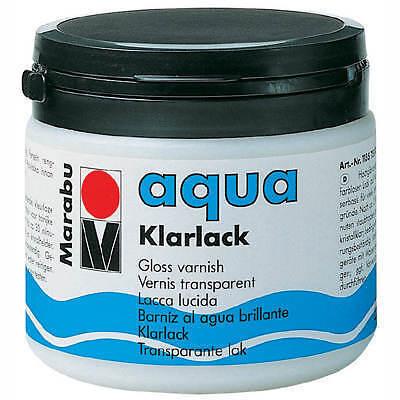 Marabu aqua Klarlack, Kunststoffdose 500ml