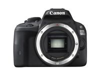Canon EOS 100D 18.0MP DSLR Camera - Black (18-55mm IS STM and 50mm 1.8 lenses)