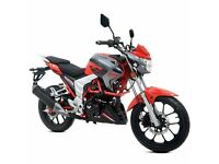 * Brand New 2017 * Lexmoto Venom 125cc EFI. Warranty, Delivery, Part-ex: 23-05
