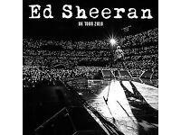 Ed Sheeran - Wembley - June 16th - Seated - Ideal Xmas gift