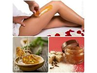 Natural Persian hair removal sugar paste depilation