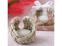 Guardian Angel wings tealight candle holder - £4.85 Plus P&P