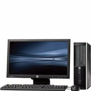 LIQUIDATION HP PC DUAL CORE 2.6GHz,4GB,250GB,DVD-RW,8USB,MONITOR 17""