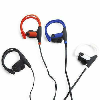 Sport Earbuds Sweat Resistant water Resistant Flexible over ear hook headphones