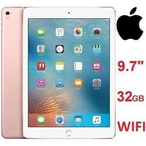 """REFURB APPLE IPAD PRO 32GB TABLET - 126612119 - 9.7"""" ROSE GOLD WIFI"""