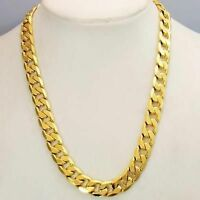 Gold chain stamped ITALY 24kgl,,, ITS 24 inch 12 mm 99grams