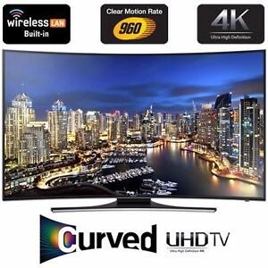 """SAMSUNG 55"""" 4K LED 3D SMART CURVED UHDTV *NEW IN BOX*"""