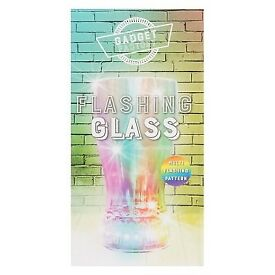 The novelty 'Gizmos' flashing party beer glass - £2.35 Plus P&P