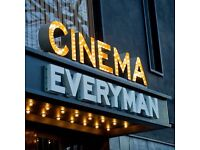 Amazing opportunities for chefs & kitchen team at Everyman cinema & restaurant in Leeds Trinity