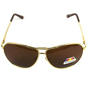 Unused Male Sunglasses Plane Polarizer Glasses with Metal Frame