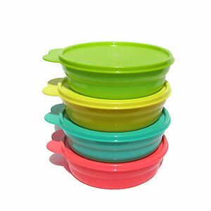 Brand new Tupperware 4pc microwave cereal bowls
