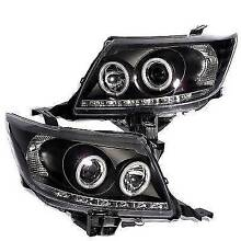 TOYOTA HILUX 2011 - 2015 PROJECTOR HEADLIGHTS BLACK LED NEW PARTS Florey Belconnen Area Preview