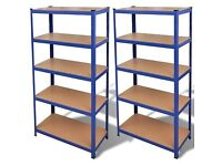 2x Heavy Duty Shed Shelving Racking Garage Storage